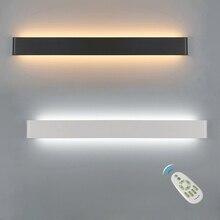 LEDโคมไฟหรี่แสงได้ 2.4G RFรีโมทคอนโทรลห้องนอนข้างWall Living Roomบันไดโคมไฟตกแต่งติดตั้ง