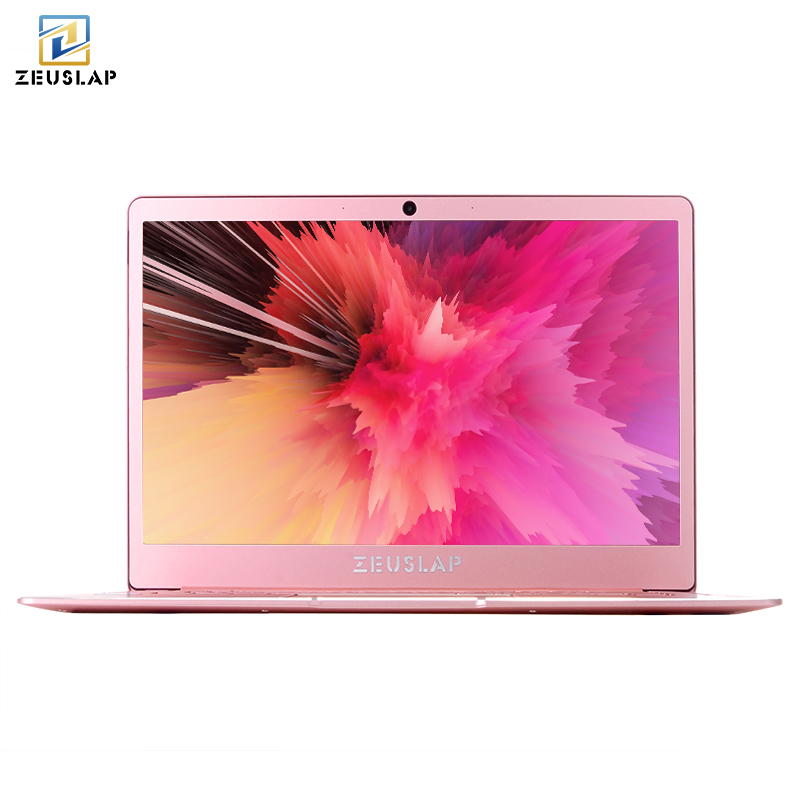 8 gb RAM + 64/128/256/512 gb SSD 14 pouces 1920x1080 p Plein HD IPS Écran Intel Quad Core CPU Métal Ultrabook Ordinateur Portable Ordinateur portable