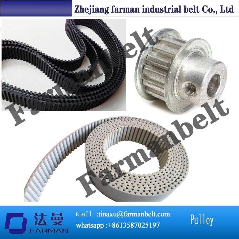 8M T10 XL T5 5m Accessories PU jointed timing belt t10 steel cord pu timing belt