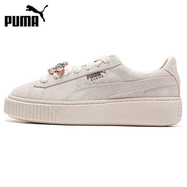88e020b13c2a Original New Arrival 2018 PUMA Suede Platform Gem Wns Women s Skateboarding  Shoes Sneakers