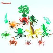 Игрушки Монтессори детские игрушки набор насекомых морские животные