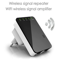 VONETS WR02 Mini 300Mbps Wireless WiFi Network Router Repeater Booster Signal Range Extender Amplifier EU/US/UK Plug(China)