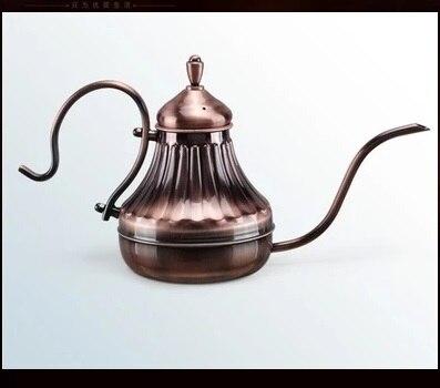 Fei 1pcs 2015 yeni 0.45L Qızıl Çay və Qəhvə damlası çaydanı, - Mətbəx, yemək otağı və barı - Fotoqrafiya 2