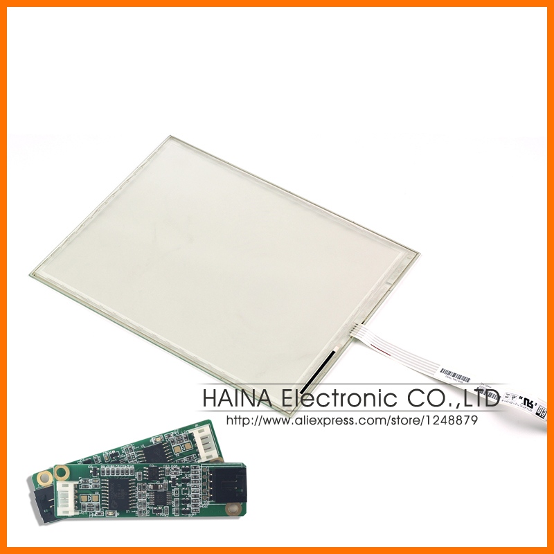 12.1 Inch ELO Touch Screen, 12.3 inch 5 wire resistive USB touch panel overlay kit, 12 ELO Touch System include USB Controller