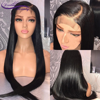 13x6 Lace Front Human Hair Wigs Pre Plucked Hairline Brazilian Remy Hair Straight Lace Wigs With Baby Hair Dream Beauty
