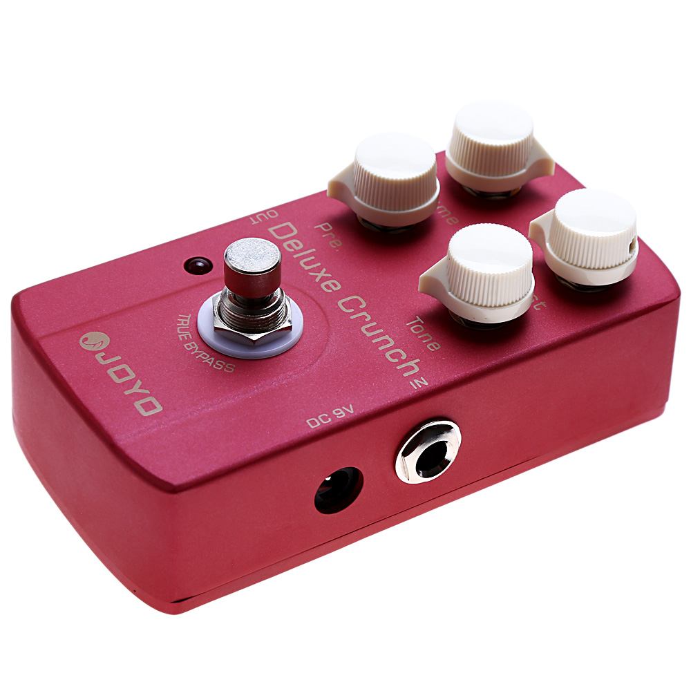 JOYO JF - 39 Electric Guitar Effect Pedal Deluxe Crunch Metal Instrument Spare Part Guitar PedalJOYO JF - 39 Electric Guitar Effect Pedal Deluxe Crunch Metal Instrument Spare Part Guitar Pedal