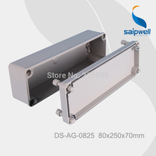 Saipwell Most Popular IP66 abs waterproof switch outdoor junction box electrical 80*250*70mm DS-AG-0825