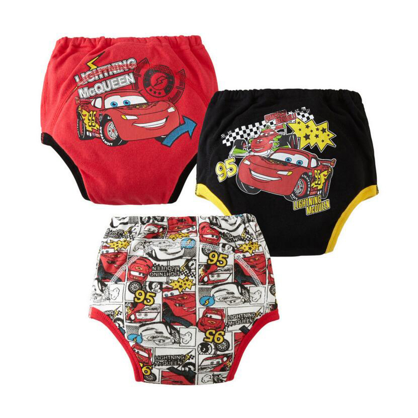 3pcs Reusable Baby Training Pants Infant Waterproof Pant Toddler Potty Underwear Newborn Boy Girl Swimming Diapers Nappy Panties