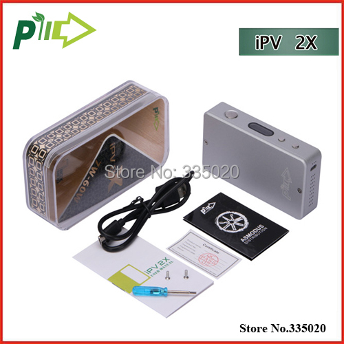 Здесь можно купить   Original Pioneer4you Newest IPV 2X Box Mod 7W-60W OLED Touch Sensor Mode Ipv 2X fit for 18650 Battery VS IPV 3 in stock Бытовая электроника