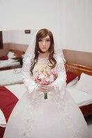 (Q1)Quality Handmade Silicone Soft Realistic Female Half Face Ching Crossdress Mask Crossdresser Doll