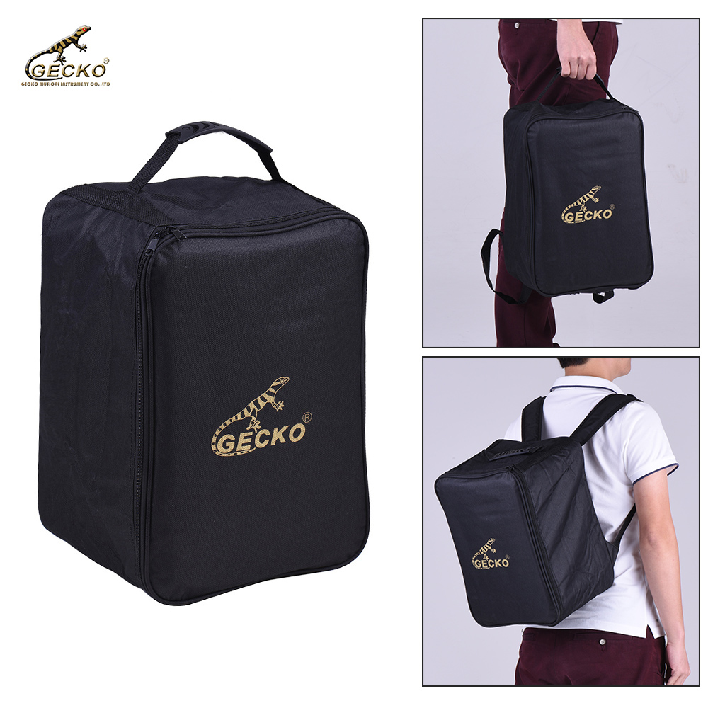Hot Gecko M03 Kids Cajon Box Drum Bag Backpack Case 600d 5mm Cotton Padding With Carry Handle Shoulder Straps In Parts Accessories From Sports
