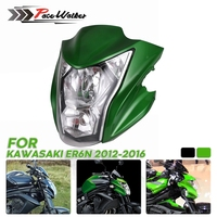 For Kawasaki ER6N Motorcycle Headlight Assembly Headlamp Light House Fit2012 2016 13 14 15 Green Black