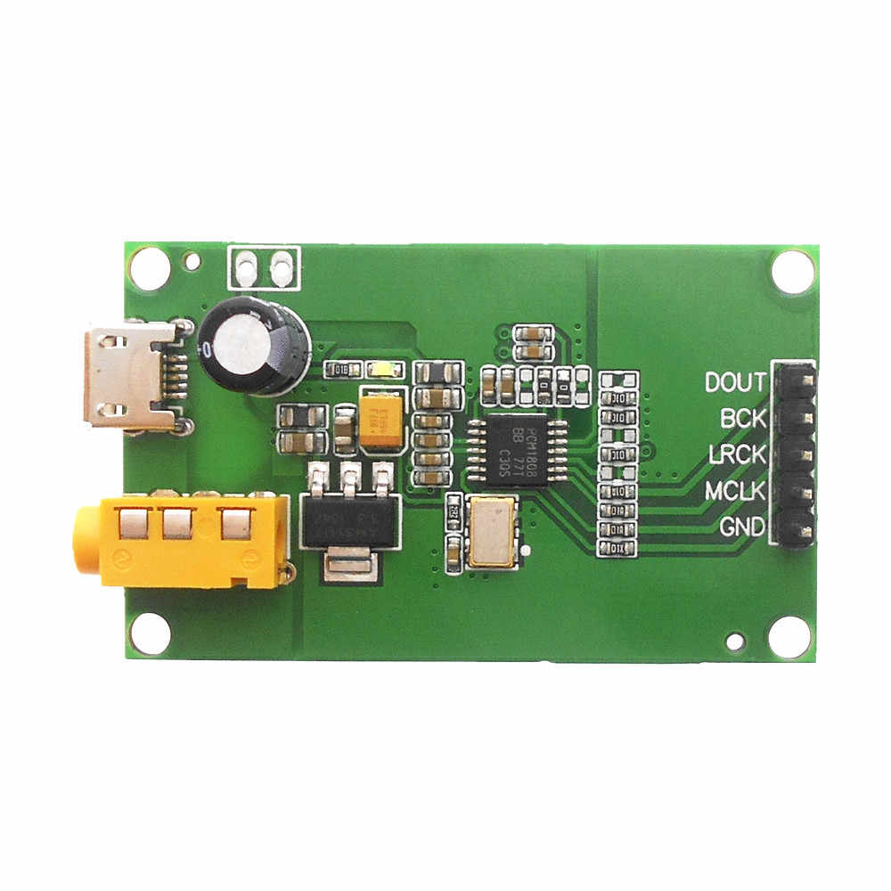 PCM5122 I2S IIS Raspberry Pi Digital Audio Input DAC Decoder Board