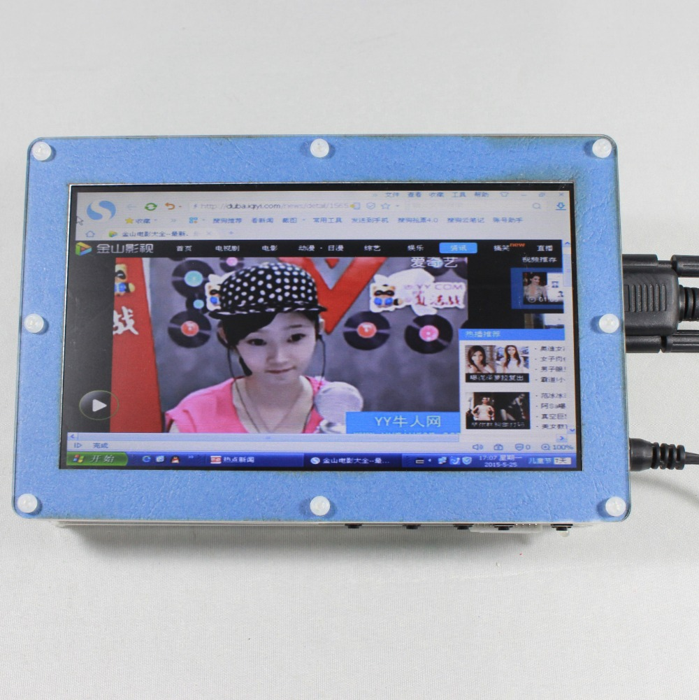 7inch 800x480 Lcd monitor with HDMI+VGA+2AV+Reversing with Europe Power supply wireless 7inch lcd monitor