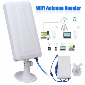 USB wireless network card WiFi Extender Wireless Outdoor Router Repeater computer network signal enhanced wifi receiver 5m