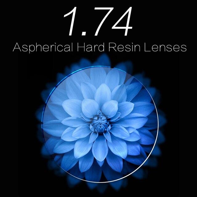 Anti Fatigue 1.74 Anti Ultraviolet Radiation A Pair Of  Vision Lenses For Myopia /Hyperopia Reading Glasses 1.74 Aspherical Lens