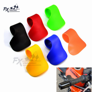Hot Throttle Grips Motorcycle Cruise Control Throttle Assist Wrist Cramp Rest Clip Universal 7/8 Handle Bar E-Bike Moto Scooter image