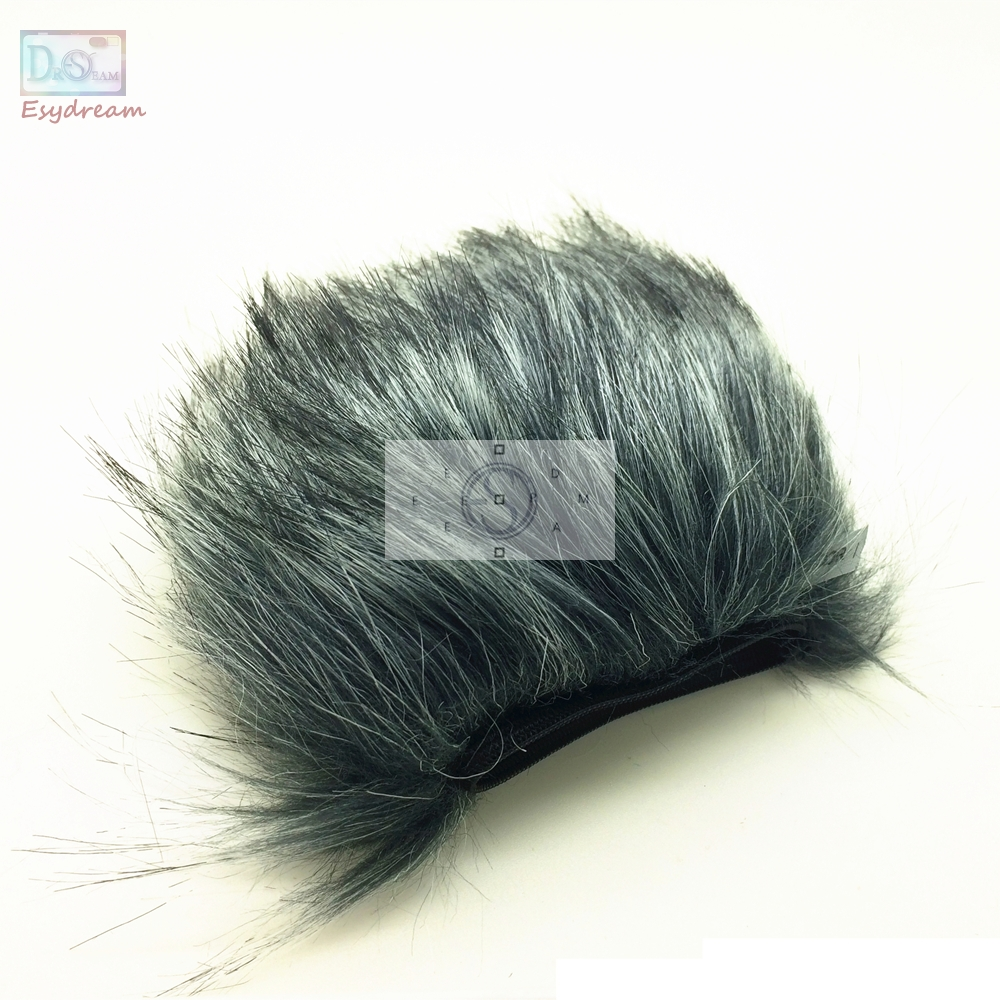 MIC Outdoor Furry Cover Windscreen Windshield Muff For ZOOM H4N Boya V02 Microphone Deadcat Wind Shield