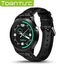 Lo nuevo gw01 bluetooth smart watch ips pantalla redonda de la vida a prueba de agua deportes smartwatch para apple huawei android ios móviles