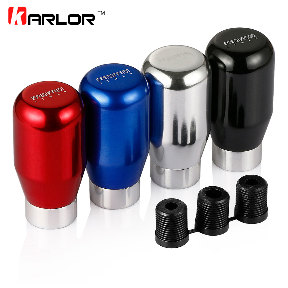 Pure Metal Shining Momo Car Styling Shift Knob Universal