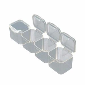 Image 5 - Junejour28 Grids Makeup Organizer Storage Box Nail Drill Plastic Box Cosmetic Box Lipstick Jewelry Box Case Holder Display Stand