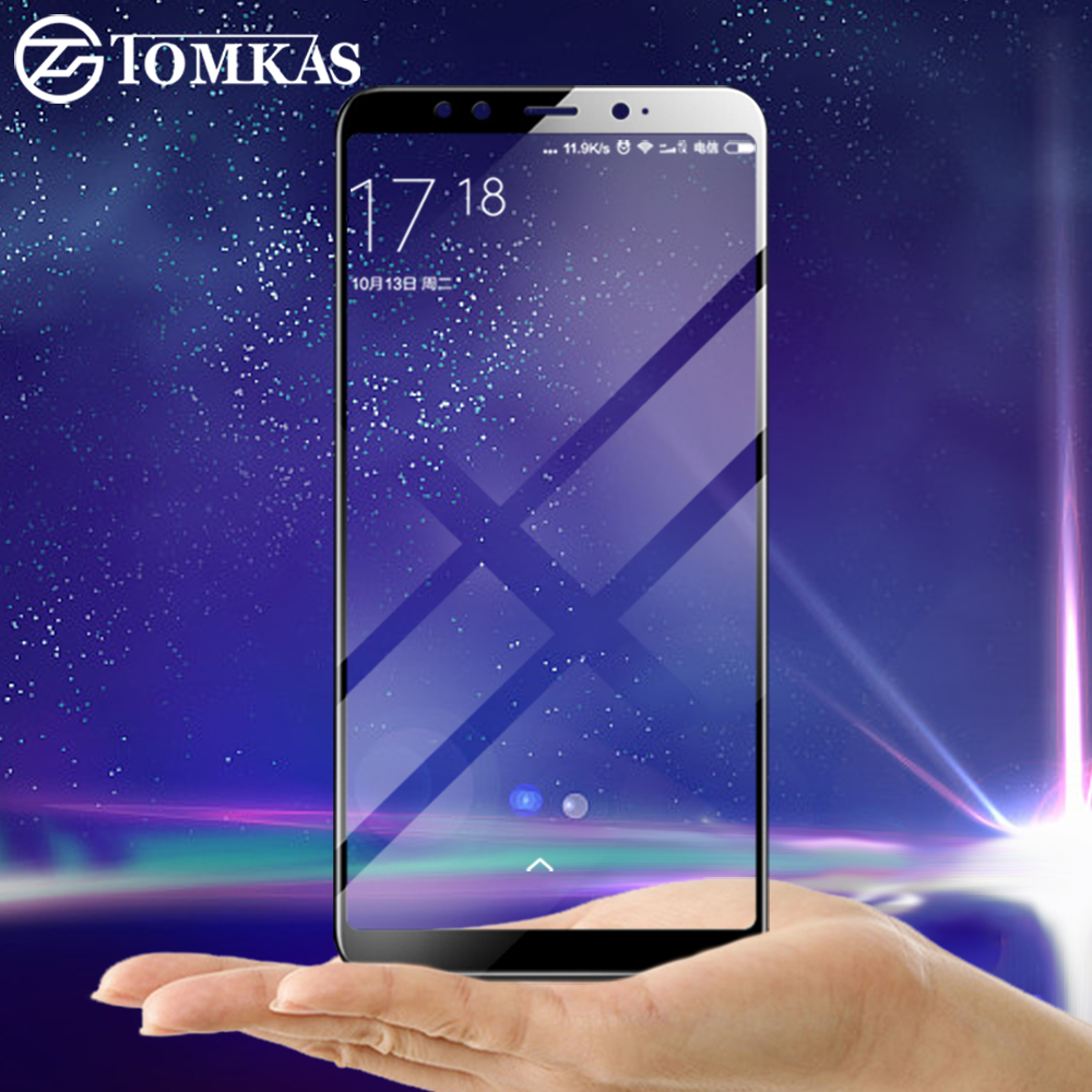 TOMKAS Glass For Xiaomi Mi A2 6X Screen Protector Tempered Easy to install Film For Xiaomi Redmi S2 Mi Mix 2S Tempered Glass    TOMKAS Glass For Xiaomi Mi A2 6X Screen Protector Tempered Easy to install Film For Xiaomi Redmi S2 Mi Mix 2S Tempered Glass