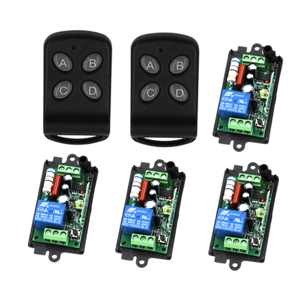 MITI AC110V 220V RF Wireless Remote Control Switch Radio Switch Remote Control ON/OFF SKU: 5160 miti 12v 1ch 10a wireless remote control dc light switch system lamp led smd on off with case sku 5415
