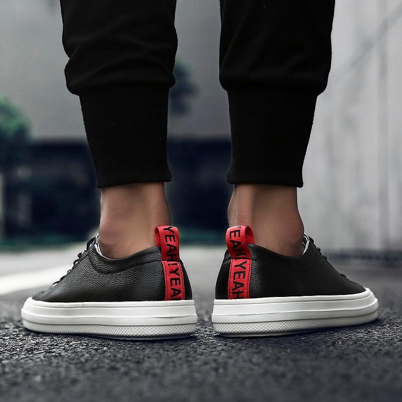 Pequenos Macios Lace Respirável Preto Nova Moda Tênis Mens Mocassins Skate Brancos De Sapatos white Homens Chegada Formadores Black up xHO0zIqw