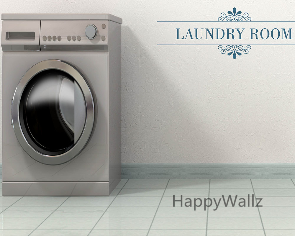 Laundry room quote wall sticker diy family home wall quotes vinyl laundry room quote wall sticker diy family home wall quotes vinyl wall art decals laundry room letterings custom colors q57 in wall stickers from home amipublicfo Image collections