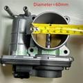 Auto Peças ORIGINAL CONJUNTO DO CORPO DO ACELERADOR 60mm o diâmetro PARA NISSAN TIIDA MICRA HITACHI SERA526-01 SERA52601 16119-ED000