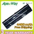 Apexway 11.1 v 4400 mah batería del ordenador portátil para dell xps 14 17 15 Serie L401x L501x L502x L701x L702x JWPHF R795X WHXY3 312-1123