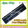 Apexway 11.1v 4400mAh Laptop Battery for DELL XPS 14 17 15 L401x L501x  L502x  L701x  L702x Series JWPHF R795X WHXY3 312-1123