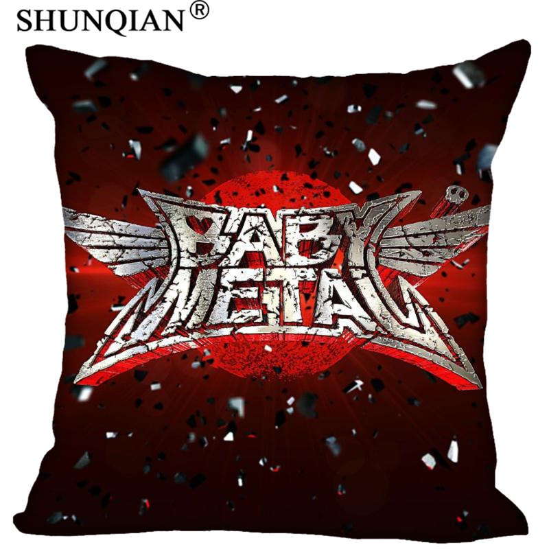 High Quality Babymetal Style Throw Pillowcase Square Zippered Pillow Cover Custom Gift