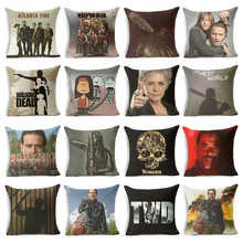 The Walking Dead Style Pillow Covers