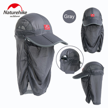 NatureHike Unisex UV Protection Hat Summer Outdoor Fishing Cap Breathable Hat Quick-dry Sunproof Sun Protcet Face Neck Cover Cap