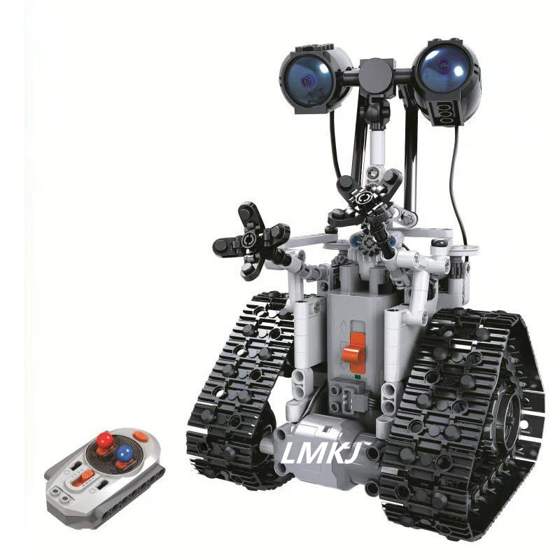 Legoing Technique Ville Télécommande RC Bulldozer Électrique designer Blocs de Construction Compatible avec D'ingénierie 408 pcs jouets Cadeaux - 3