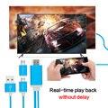 Универсальный МХЛ Кабель mhl для HDMI Конвертер Адаптер HDMI Кабель для Android телефон Micro USB к HDMI 1080 P Miracast ТВ ключ
