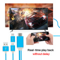 Universal MHL Cable MHL to HDMI Converter Adapter HDMI Cable for Android phone Micro USB to HDMI 1080P Miracast TV dongle