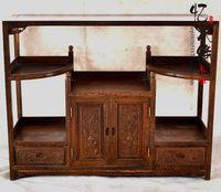 Mahogany furniture wooden sideboard wood antique tea cabinet cupboard cabinet restaurant side cabinet