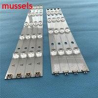"""47 LED Backlight strip For LG 47"""" inch TV 9 Lamp innotek DRT 3.0 LG47lb5610 6916L 1715A 1716A LG47LY340C LG47GB651C 8 pieces / lot (2)"""