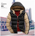 T barato de china al por mayor 2016 otoño invierno nueva moda de los hombres ocasionales adelgazan engrosamiento Mantener caliente-algodón acolchado ropa de abrigo chaqueta