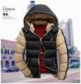 T china baratos por atacado 2016 outono inverno novos homens moda casual fino espessamento Manter-quente de algodão acolchoado jaqueta outerwear