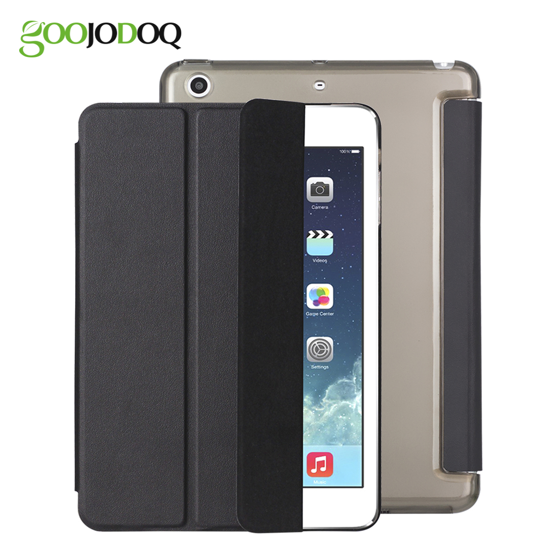 For iPad 9.7 2017 Case,Ultra Slim PU Leather Smart Cover+PC Hard Back Coque Tri-fold Stand for Apple iPad 2017 9.7 inch A1822 back shell for new ipad 9 7 2017 genuine leather cover case for new ipad 9 7 inch a1822 a1823 ultra thin slim case protector