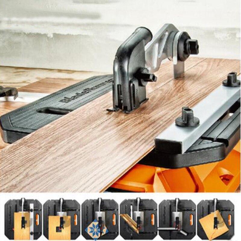 Scie sur Table En Bois Traitement multifonctionnel Électrique Courbe Scie sauteuse Machine De Découpe Du Bois Ménage Menuiserie ToolsWX572 - 4