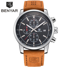 hot deal buy megir mens watches luxury brand famous date chronograph watches for men waterproof sport military watch male clock montre homme
