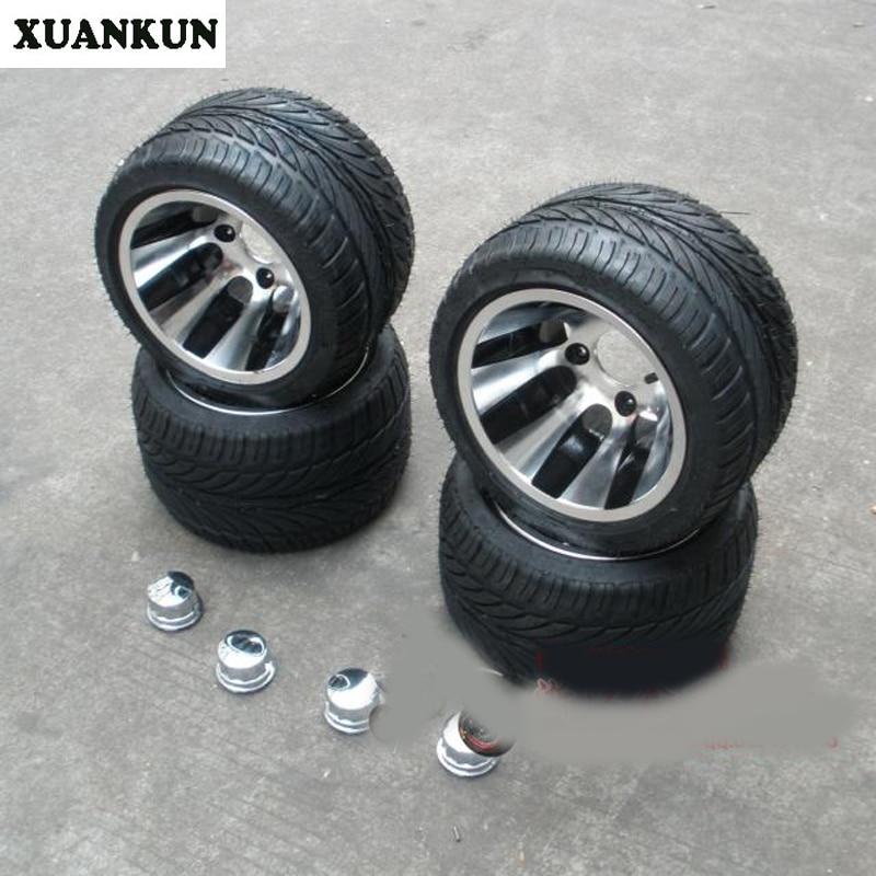 Xuankun Beach Car Kart 10 Inch Aluminum Wheel Vacuum Flat