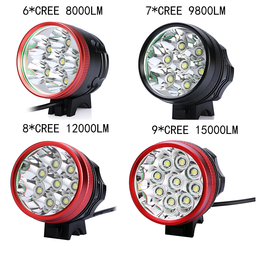 CREE XML XM-L U2 9800LM 7x LED Bicycle Bike Light Lamp cycling Free Shipping (Battery not included) sitemap 316 xml page 7