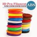 Abs 1,75 мм нить 20 цветов 3d печать 1,75 мм 3d Ручка пластик 3d Принтер abs нити 3d ручки abs экологическая безопасность m200m