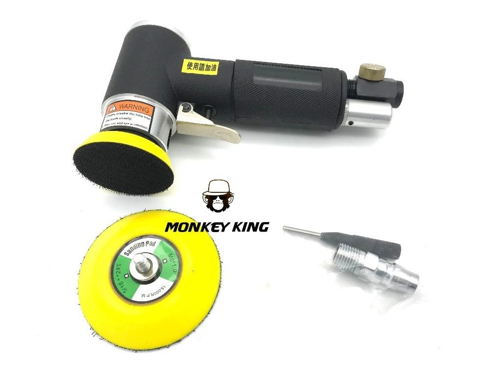 50mm 75mm  Random Orbital Pneumatic  Air Palm Sander Burnish Machine Pneumatic Tools Burnish Machine