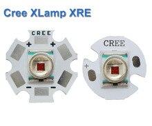 5 шт. original Cree XLamp XR-E Q5 красный 1 Вт-3 Вт светодиодные лампы с 20 мм/16 мм/12 мм База